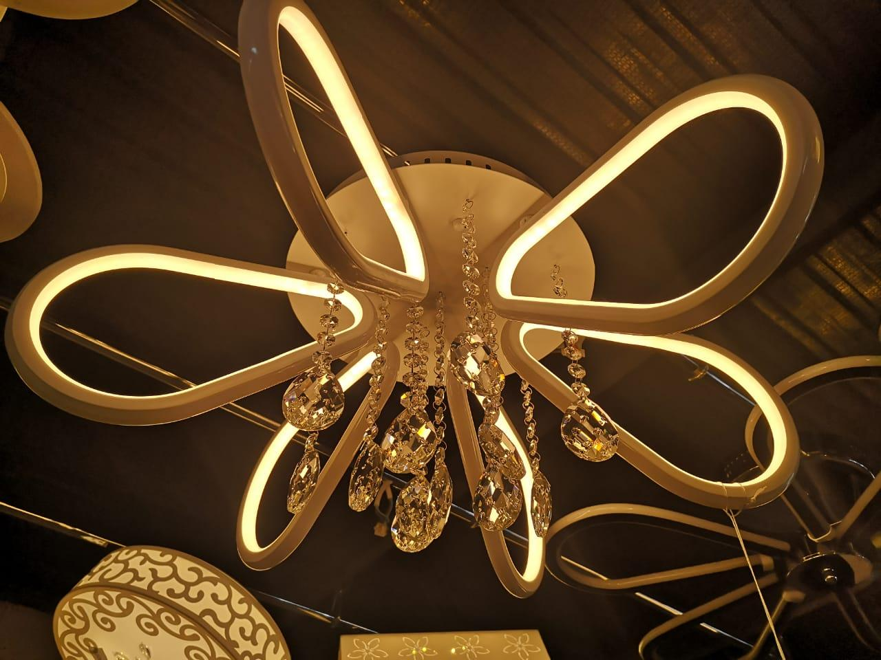 Светодиодная (LED) люстра 168W