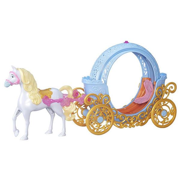 Игрушка Hasbro Принцессы Дисней (Disney Princess) Трасформирующаяся карета Золушки (кукла не входит в набор)
