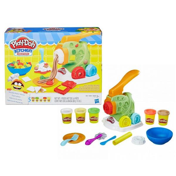 Игрушка Hasbro Play-Doh (Плей-До) Игровой набор МАШИНКА ДЛЯ ЛАПШИ