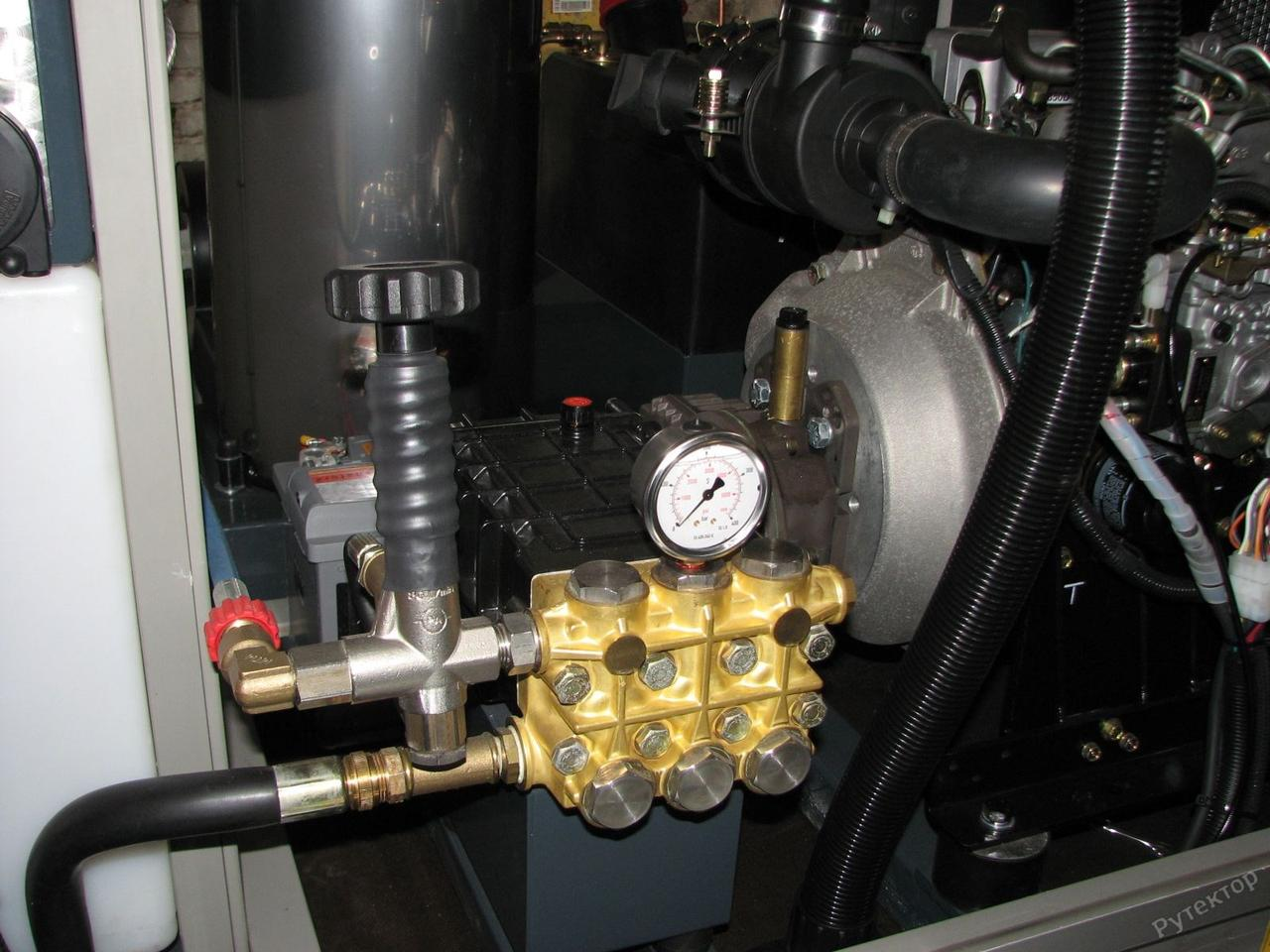 Автономный моечный аппарат высокого давления на прицепе - OERTZEN POWERTRAILER-380