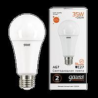 Лампа Gauss LED Elementary A67 35W E27 3000K
