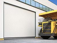 Промышленные секционные ворота из алюминиевых панелей ISD03, фото 1