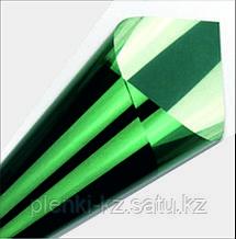 Тонирующая солнцезащитная пленка серебро/зеленый-K 35%