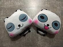 Подушка с пледом Панда