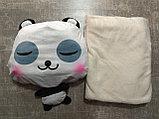Подушка с пледом Панда, фото 3