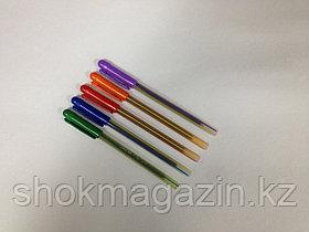 Ручка шариковая синяя DOMS 0.6мм