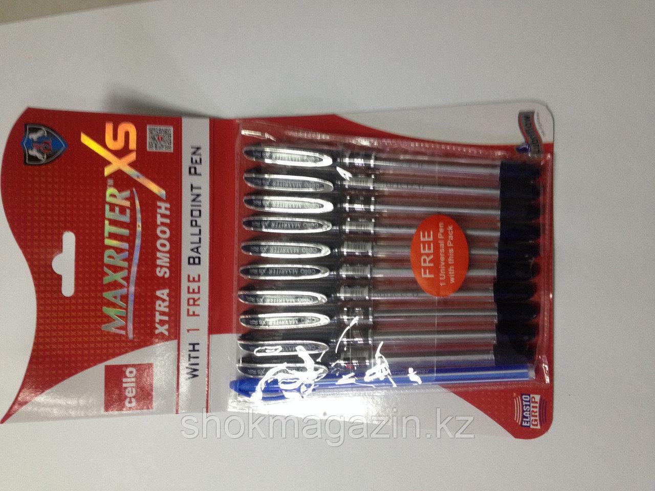 Ручка шариковая синяя Cello Maxriter XS