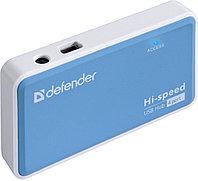 4-портовый разветвитель USB 2.0 Defender Quadro Power