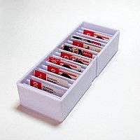 Лоток из оргстекла для картотек 20 секционный 11,5*6*30