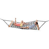 Качели гамак armed rope 'hammock', дерево, алюминий
