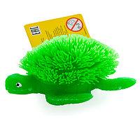 Игрушка фигурка черепахи с резиновым ворсом с подсветкой в асс., фото 1