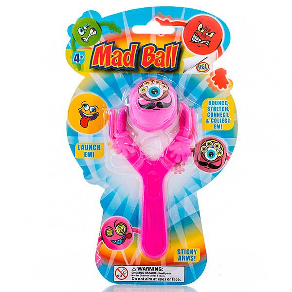 Игрушка рогатка Mad Ball в ассортименте