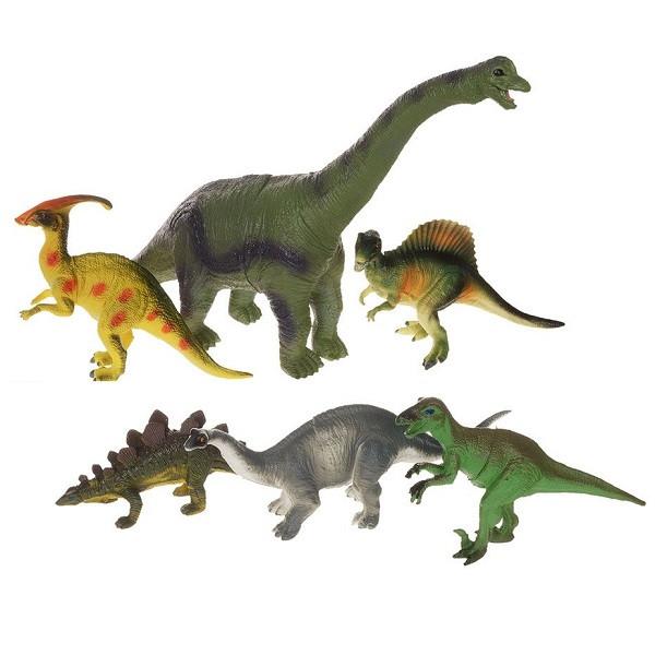 Игрушка Megasaurs игровой набор динозавров 6 штук  в асс