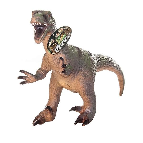 Игрушка Фигурка динозавра, Велоцираптор 32*47 см