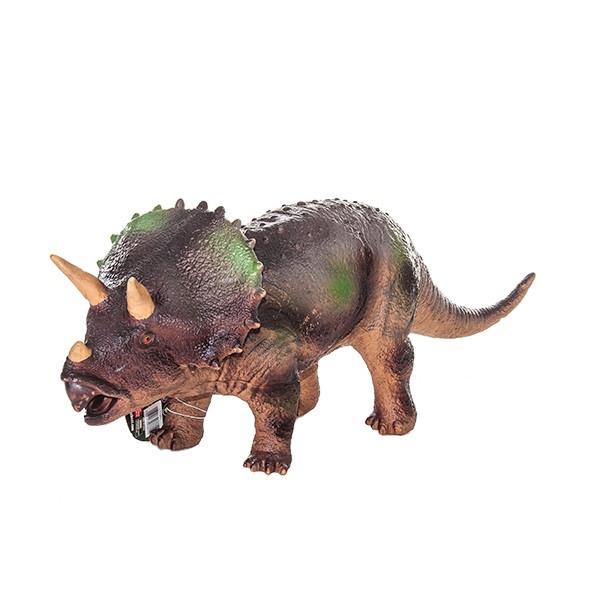 Игрушка Фигурка динозавра,Трицератопс 18*49 см