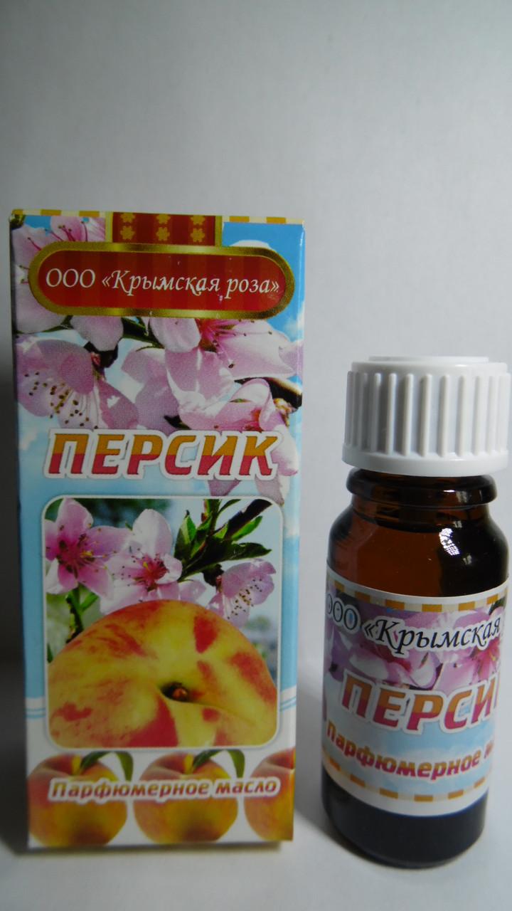 Парфюмерное масло Персик, 10мл