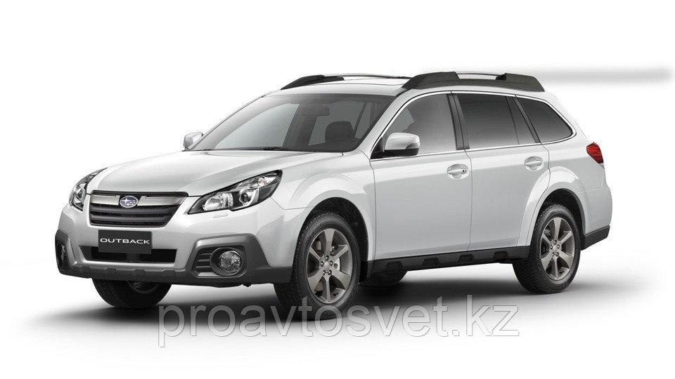 Переходные рамки на Subaru Outback IV (BR) дорестайл и рестайл (2009-2015);