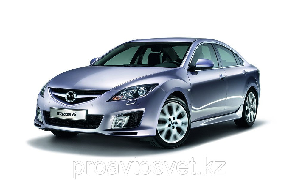 Переходные рамки на Mazda 6 II (GH) ГАЛОГЕН дорестайл и рестайл (2007-2012);