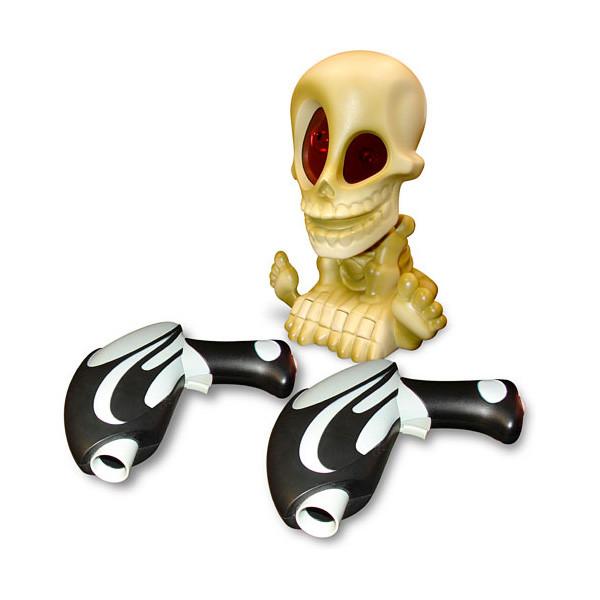 Игрушка Тир проекционный Джонни-Черепок с 2-мя бластерами