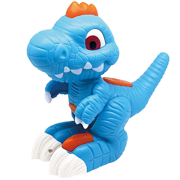 Игрушка Junior Megasaur Динозавр-повторюшка, свет, звук эфф-ты