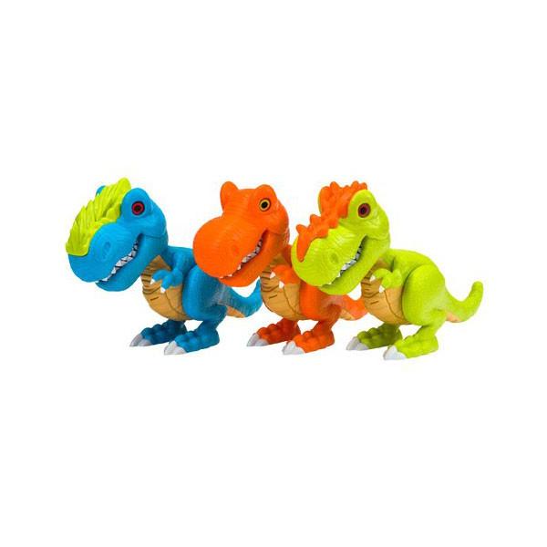Игрушка Junior Megasaur Динозавр, звук, 3 в асс-те, свет, звук эфф-ты
