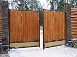 Ворота распашные, фото 8