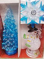 Набор елочных игрушек, светящиеся, фото 1