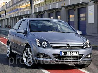 Переходные рамки на Opel Astra III (2004-2011) адаптивная система освещения AFL; Bi-LED Adaptive Series