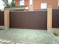 Ворота въездные откатные, фото 1