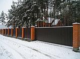 Ворота въездные откатные, фото 7