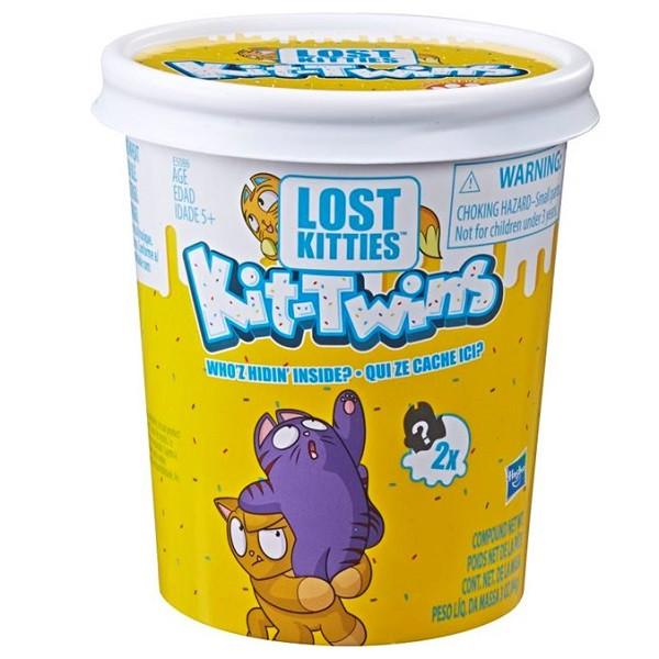 "Hasbro Lost Kitties Игровой набор ""Котики-близнецы"""