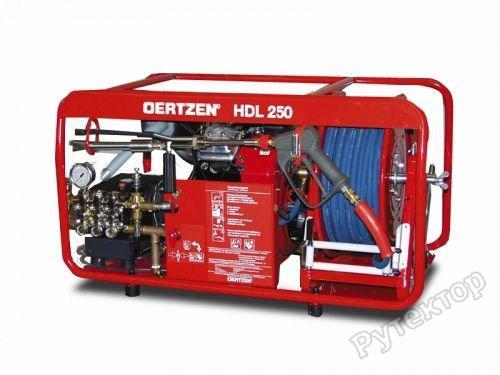 Установка высокого давления для пожаротушения (эл.стартер), рукав 60м. - OERTZEN HDL 250