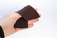 Лента эластичная, коричневая, ширина 5 см