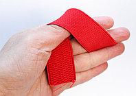 Лента эластичная, красная, ширина 3 см, фото 1