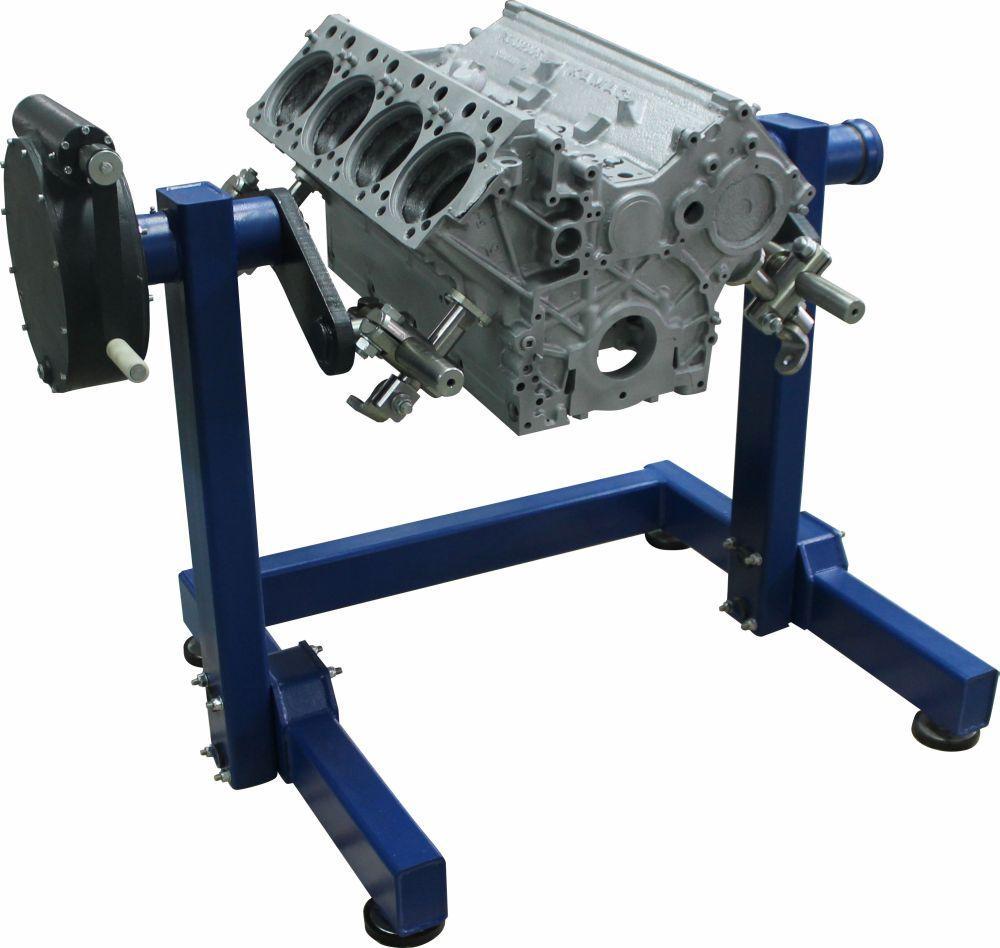 Р776Е - Стенд для разборки-сборки двигателей и других агрегатов весом до 2000 кг.