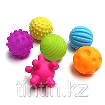 Набор из 6 текстурных мячей пищалок, фото 2