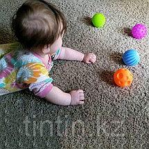 Набор из 6 текстурных мячей пищалок, фото 3