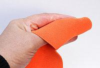 Лента эластичная, оранжевая, ширина 6 см, фото 1