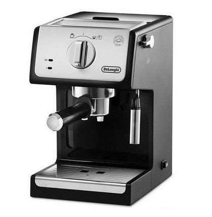 Кофеварка рожковая DeLonghi ECP33.21 черный, фото 2
