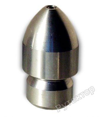 Сопло для прочистки труб реактивное D30mm INOX - OERTZEN сопло Rocket 065 3/8f