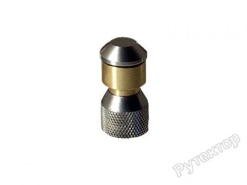 Сопло для прочистки труб реактивно-роторное D19mm INOX - OERTZEN сопло RocketTurbo 045 1/4f