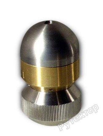 Сопло для прочистки труб реактивно-роторное D30mm INOX - OERTZEN сопло RocketTurbo 065 3/8f