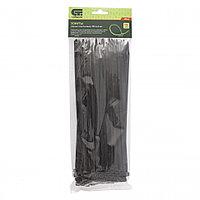Хомуты, 250 x 4,8 мм, пластиковые, черные, 100 шт Сибртех