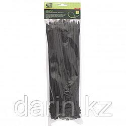 Хомуты, 300 x 4.8 мм, пластиковые, черные, 100 шт Сибртех