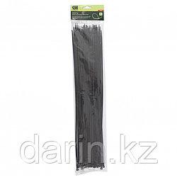 Хомуты, 500 x 4.8 мм, пластиковые, черные, 50 шт Сибртех