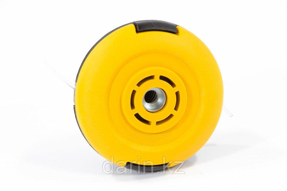 Катушка универсальная триммерная, гайка М10 х 1,25, гайка М8, винт М8-М10, левая резьба, шаг 1,25 мм Denzel - фото 2