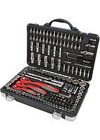 Набор инструмента, 1/4, 3/8, 1/2, Cr-V, S2, усиленный кейс, 151 предмет Matrix Professional