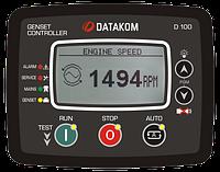 Контроллер для генератора Datakom D-100 J1939, GSM (подогрев дисплея)