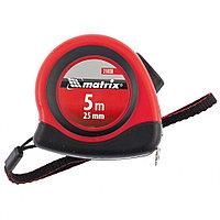 Рулетка Status autostop Magnet, 5 м х 25 мм, двухкомпонентный корпус, зацеп с магнитом Matrix, фото 1