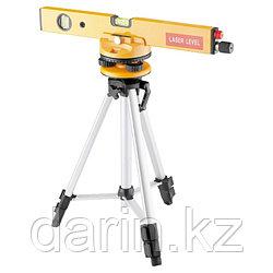 Уровень лазерный, 400 мм, 1050 мм штатив 3 глазка, набор (база, 2.линзы) пластиковый бокс Matrix